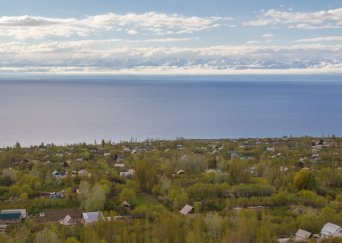 Beauty of Issyk-Kul Lake