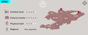 Tour Fabulous landscapes of Kyrgyzstan 2 | VisitKarakol