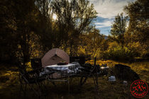 Camping in Kaidy valley