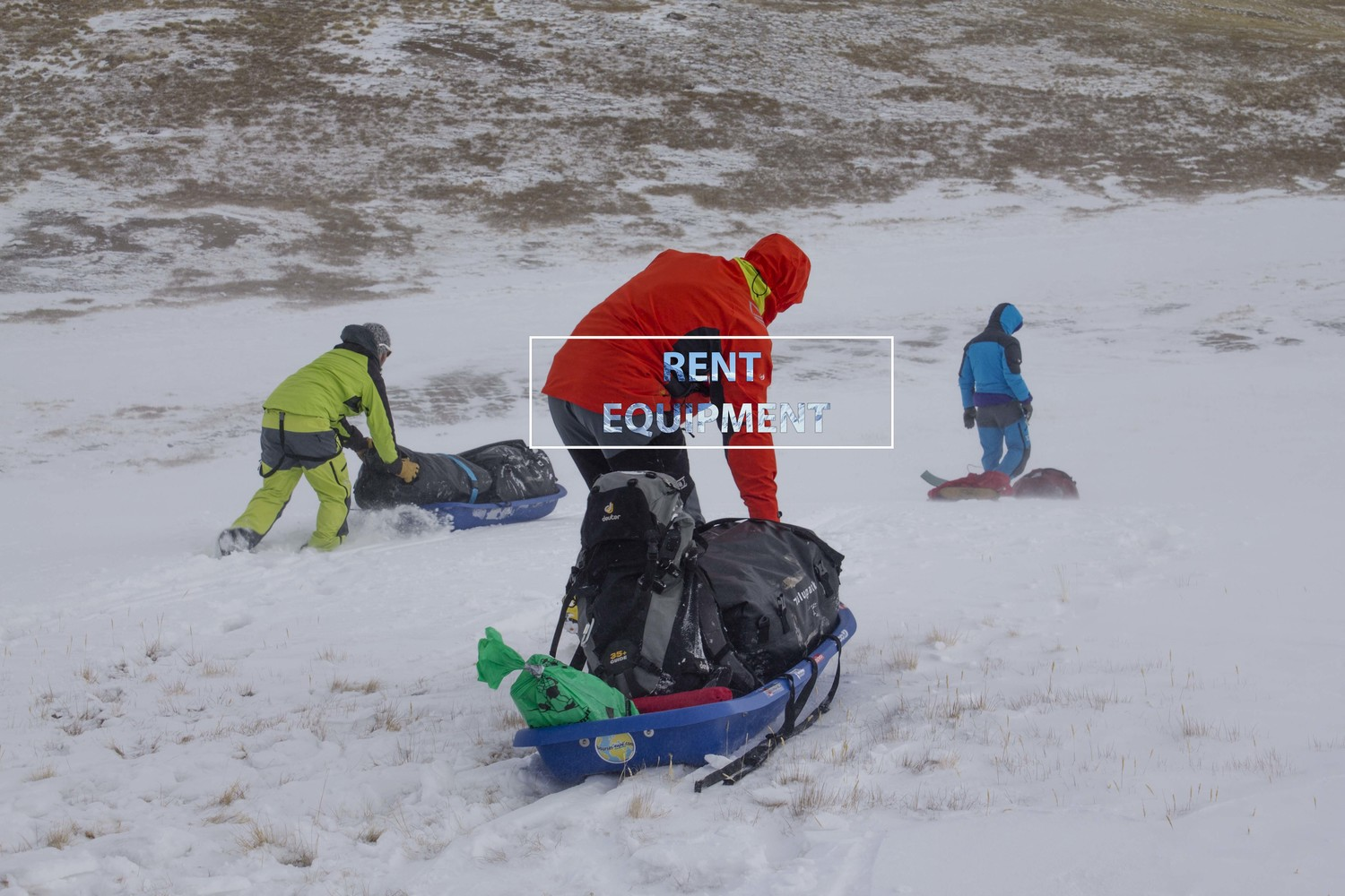 Outdoor gear renting in Karakol