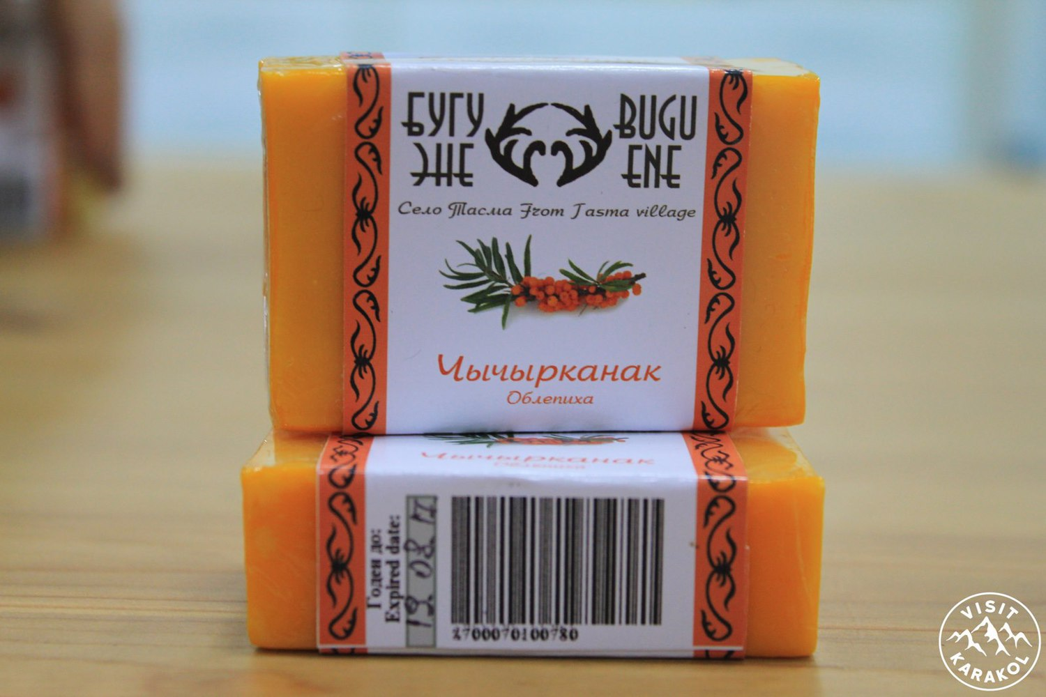 Soap  from buckthorn