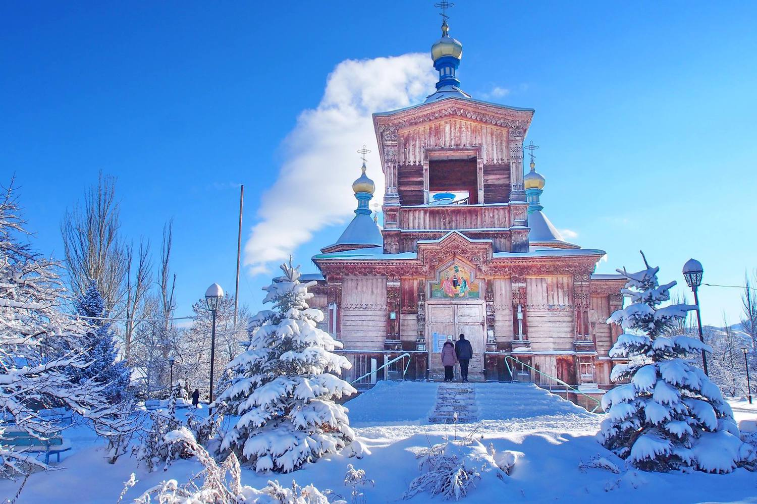 Holy Trinity Church in Karakol