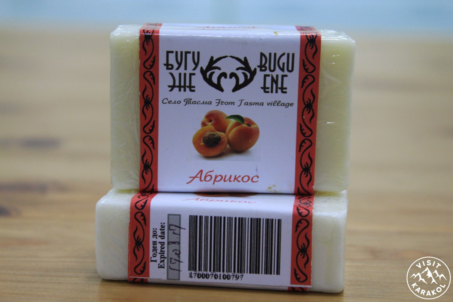 Soap from apricot
