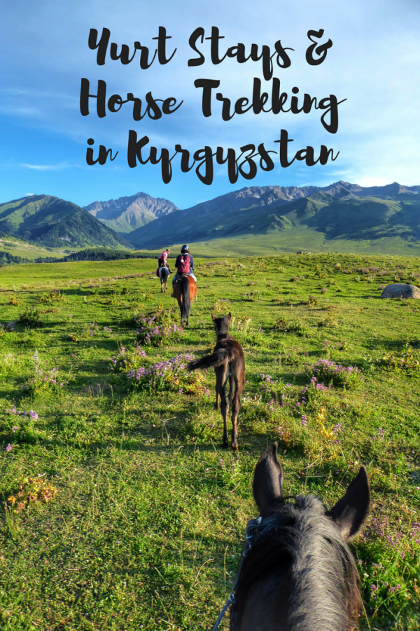 Yurt Stays and Horse Trekking in Kyrgyzstan