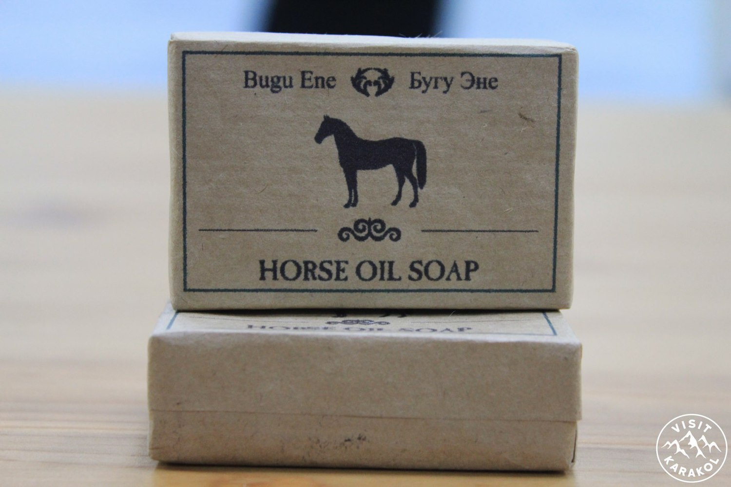 Soap from horse fat