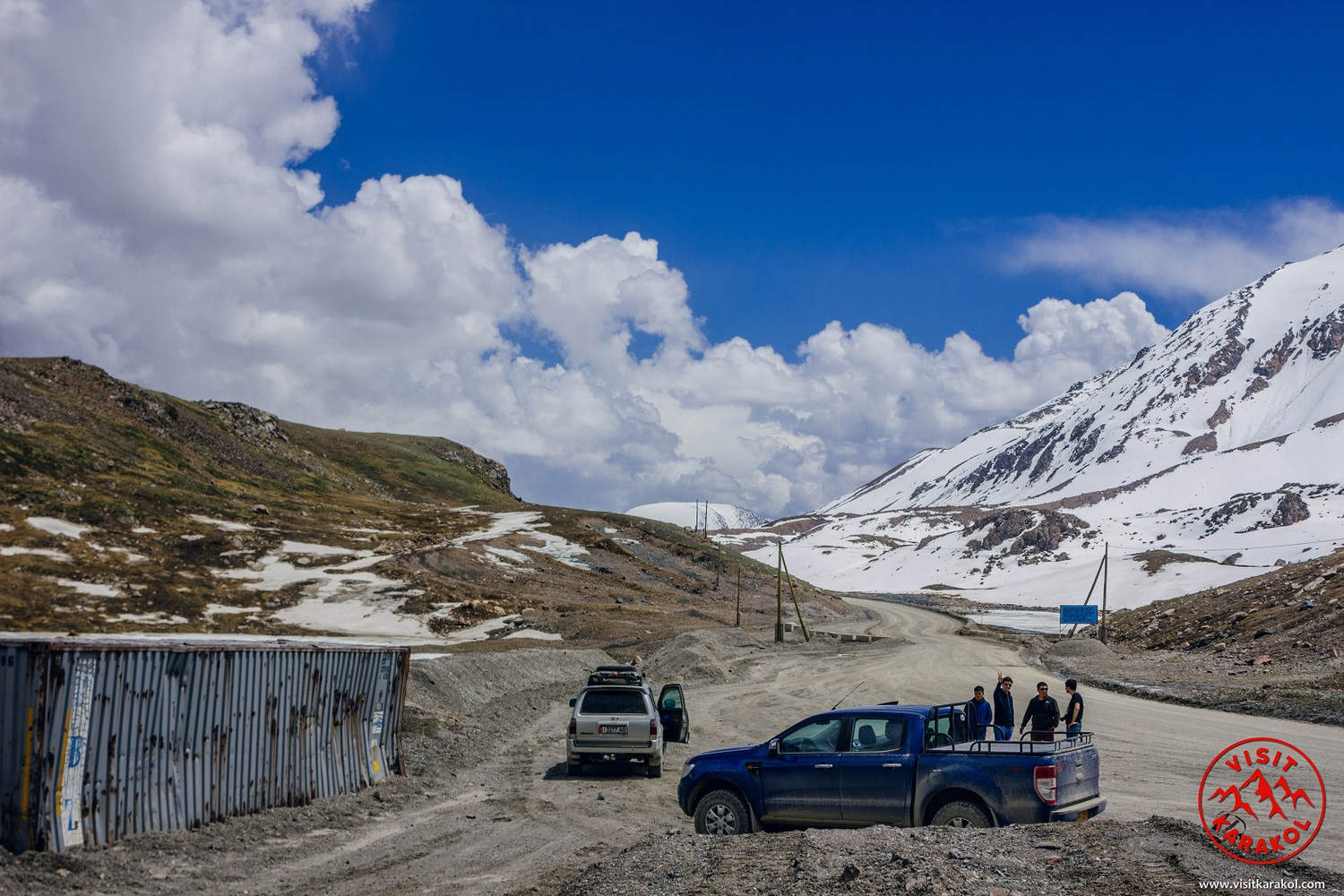 On the top of Ala-Bel pass 3918m